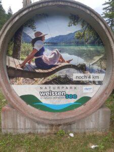Wasserkreislauf einmal anders – 50 shades of Weissensee